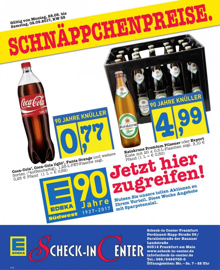 Edeka Frankfurt - Angebote und Prospekte, gültig von 28.08.2017 bis 02.09.2017