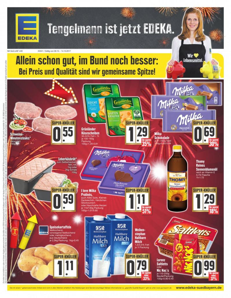 Edeka München - Angebote und Prospekte, gültig von 09.09.2017 bis 14.09.2017