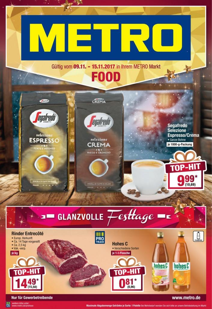 Metro Prospekte Food gültig von 09.11.2017 bis 15.11.2017