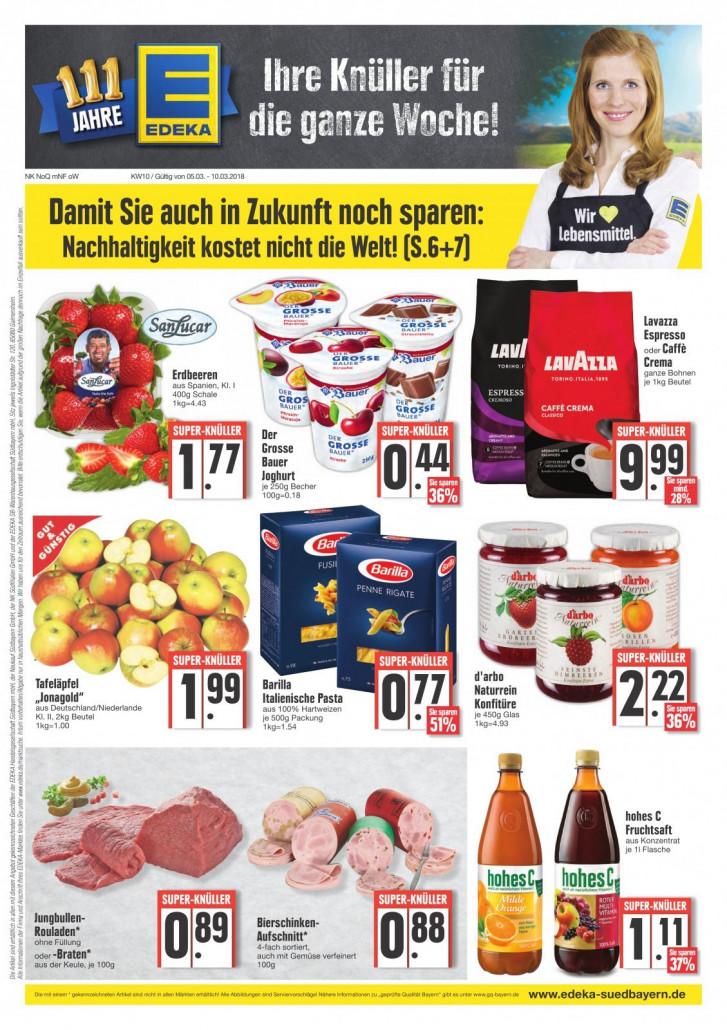 Edeka München - Angebote und Prospekte, gültig von 05.03.2018 bis 10.03.2018