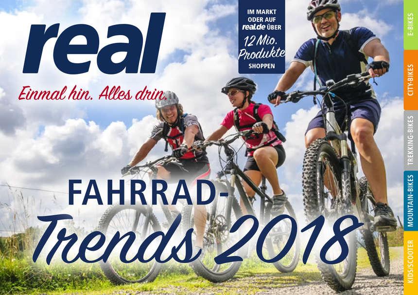 Real Prospekte - Fahrrad Trends 2018 !