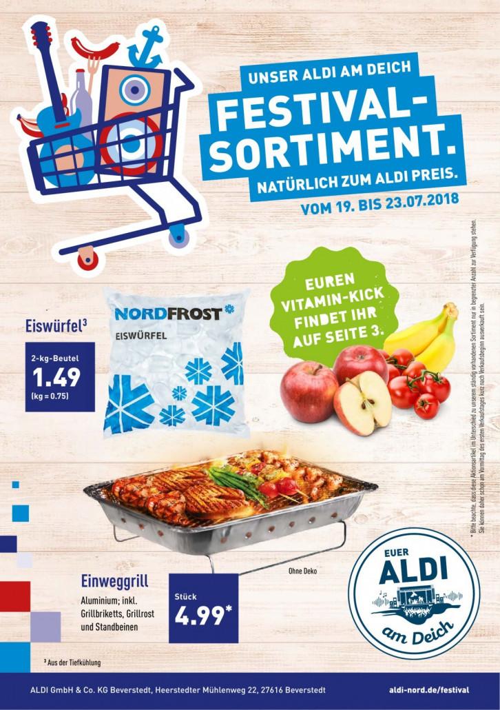 Aldi Nord Prospekte gültig von 19.07.2018 bis 23.07.2018