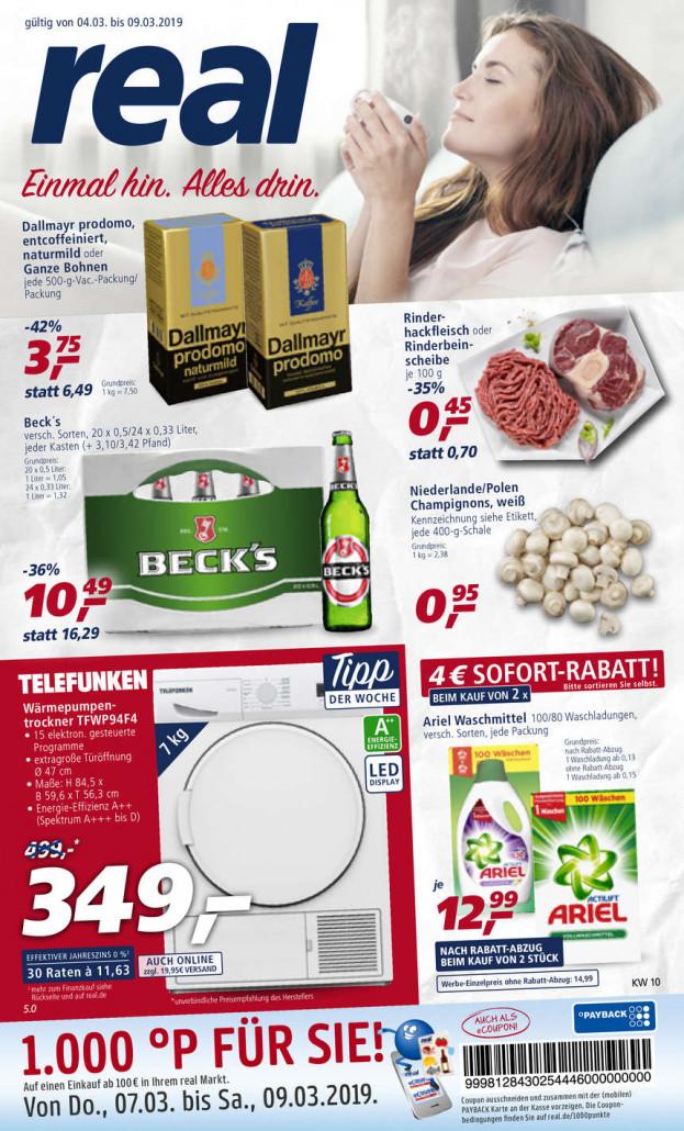 Real Prospekte 04.03.2019 - 09.03.2019 - Real Prospekt Woche 10