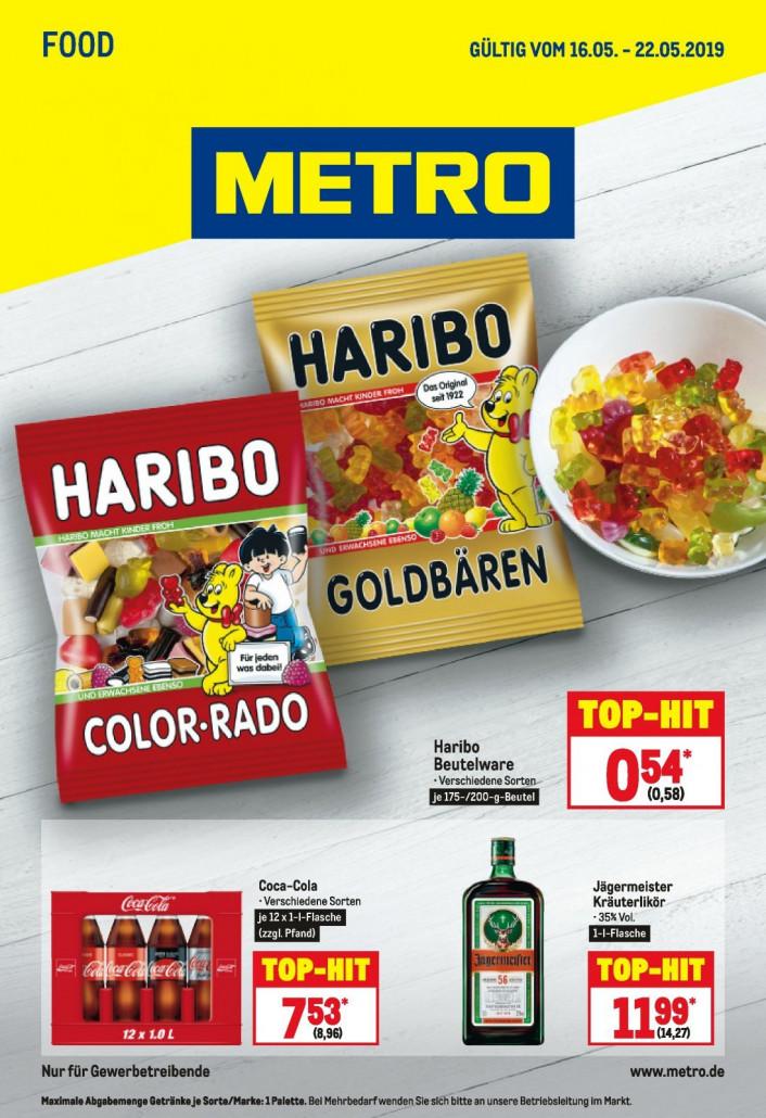 Metro Prospekte Food gültig von 16.09.2019 bis 22.05.2019