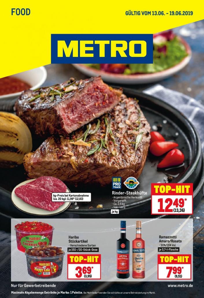Metro Prospekte Food gültig von 13.06.2019 bis 19.06.2019