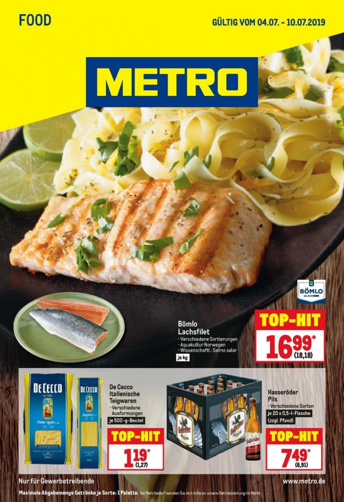 Metro Prospekte Food gültig von 07.07.2019 bis 10.07.2019