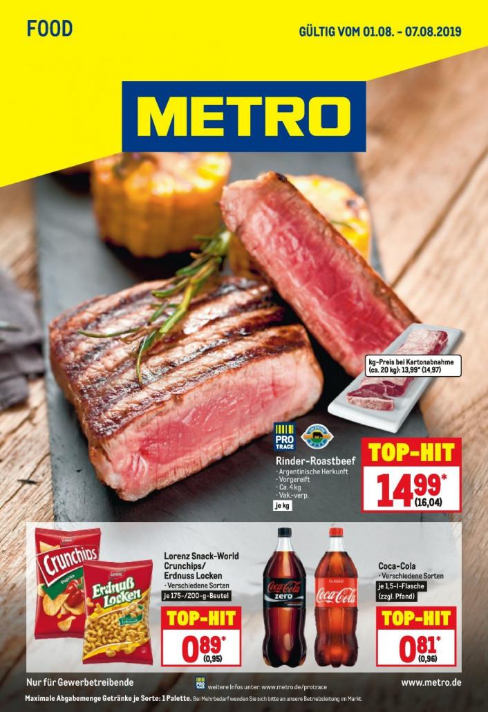 Metro Prospekte Food gültig von 01.08.2019 bis 07.08.2019