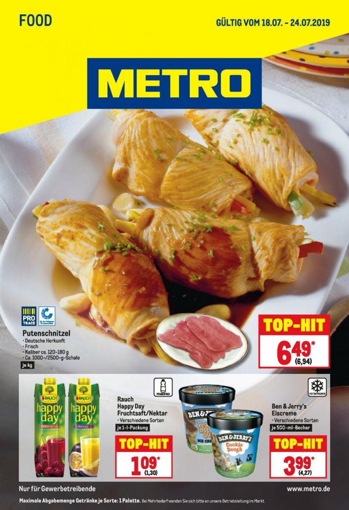 Metro Prospekte Food gültig von 18.07.2019 bis 24.07.2019