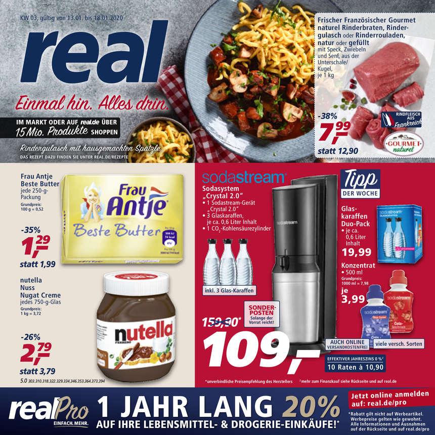 Real Prospekte 13.01.2020 - 18.01.2020 - Real Prospekt Woche 3
