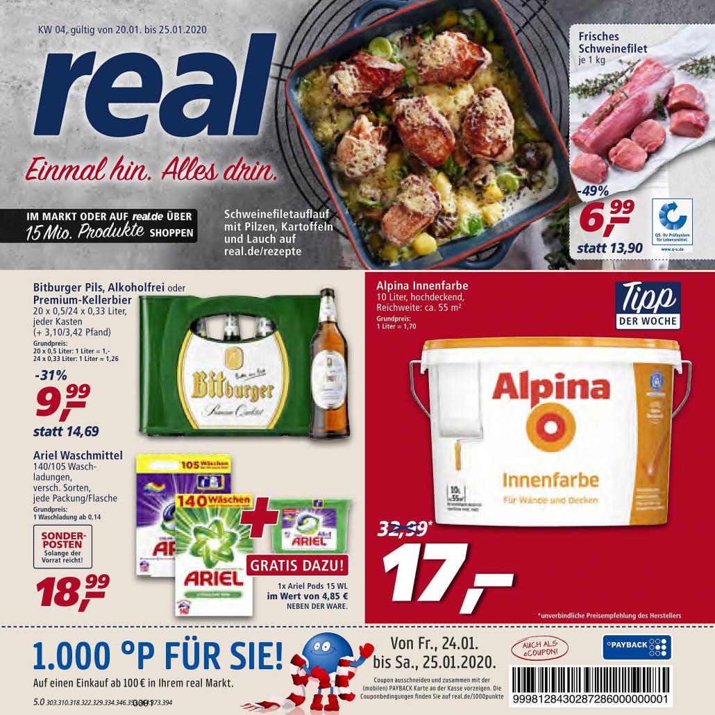 Real Prospekte 20.01.2020 - 125.01.2020 - Real Prospekt Woche 4