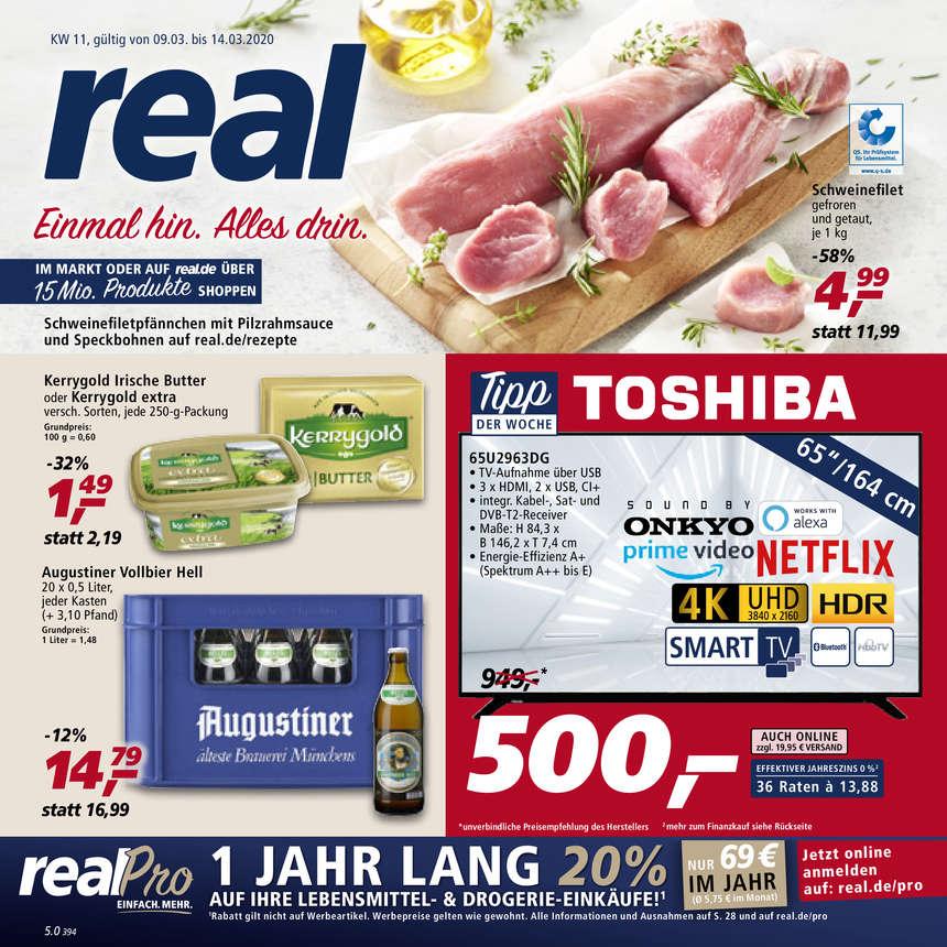 Real Prospekte 09.03.2020 - 14.03.2020 - Real Prospekt Woche 11
