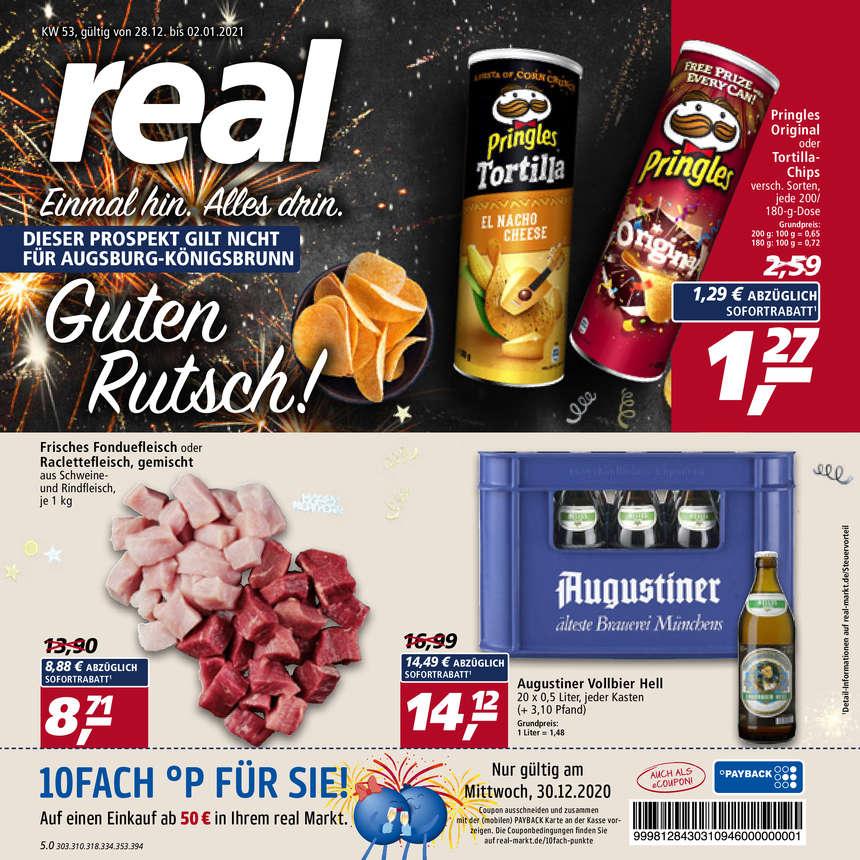 Real Prospekte 28.12.2020 - 02.01.2021 - Real Prospekt Woche 53